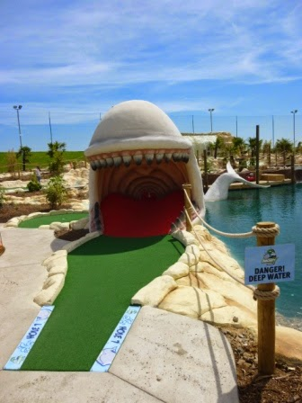 Moby Adventure Golf in Romford