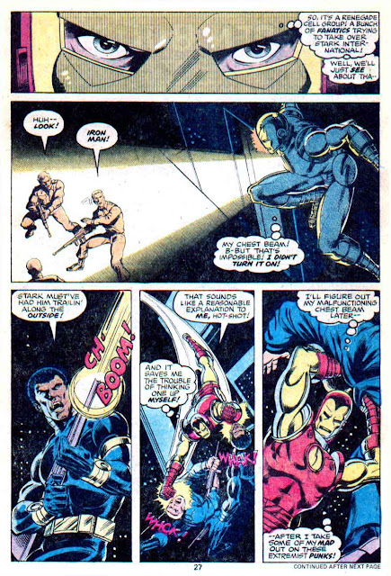 Iron Man v1 #118 marvel comic book page art by John Byrne