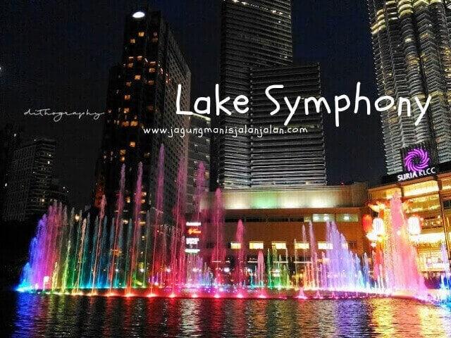 esplanade - lake symphony KLCC