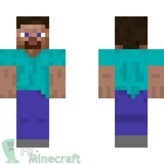 From Minecraft To Painting Steve Skin