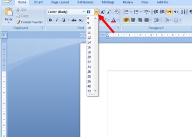 Cara Mengatur Jenis Huruf dan Ukuran Huruf di Microsoft Word