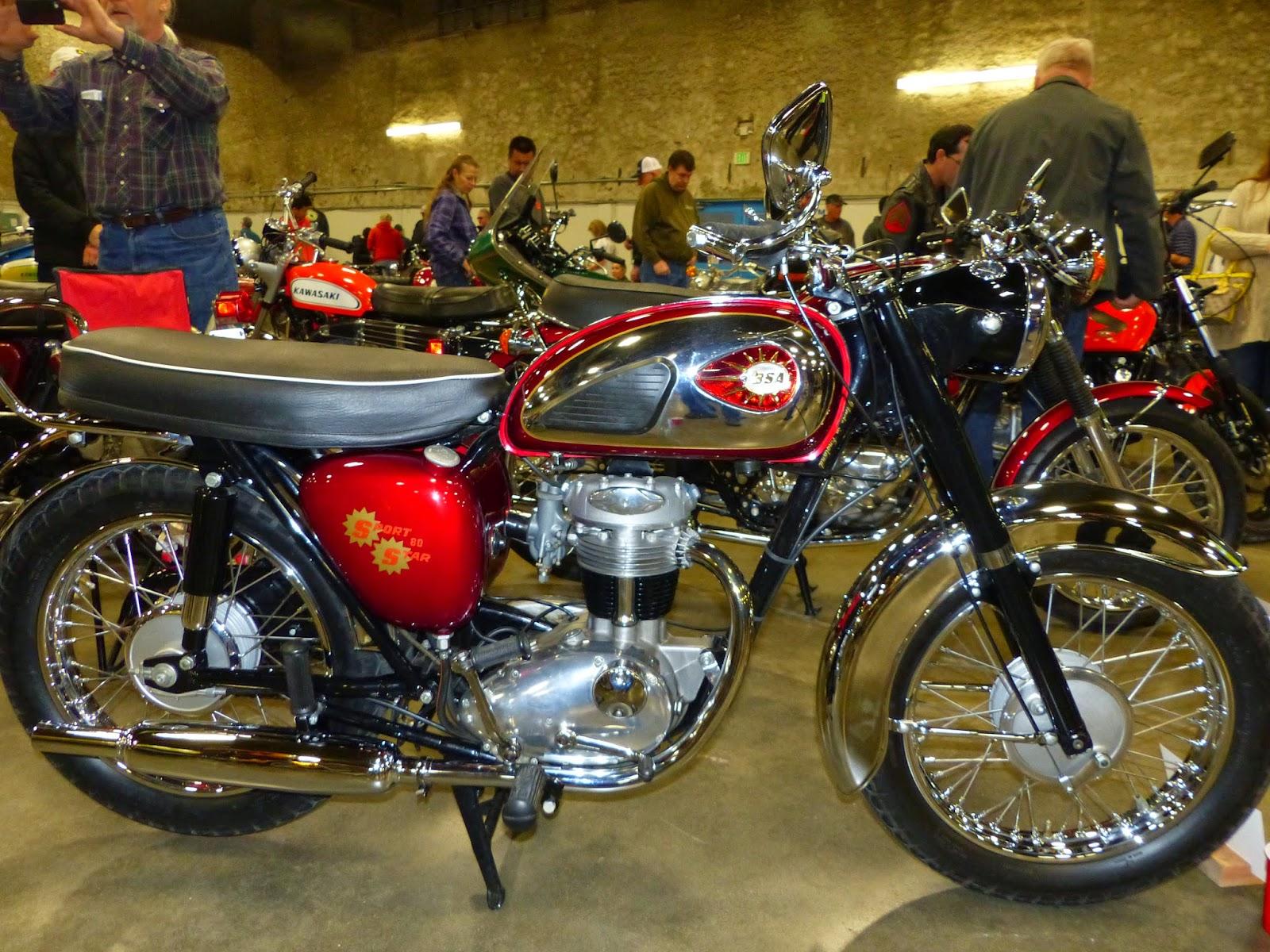 1965 BSA 250 C15 SS80 Judges Award Winner At The 2015 Idaho Vintage Motorcycle Show Caldwell