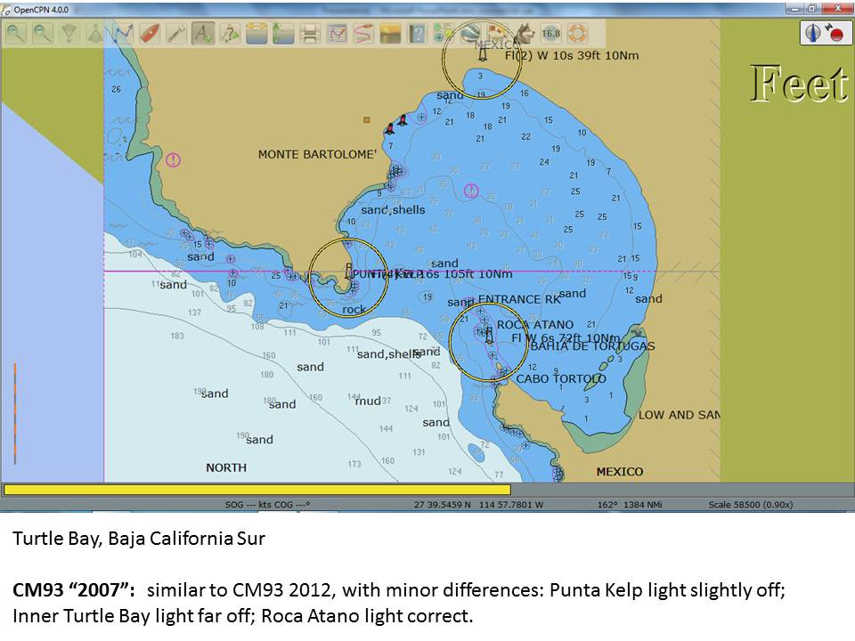 Sailing Pelagia: What year are your CM93 electronic charts
