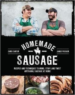 Cover of the book Homemade sausage; one of the many books available on amazon.com: Affiliate Link in caption