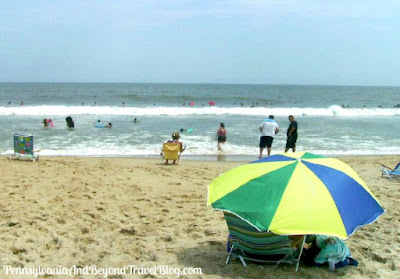 Sandy Beaches in Ocean City Maryland