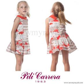 Princess Ariane wore Pili Carrera dress - Spring Summer 2016