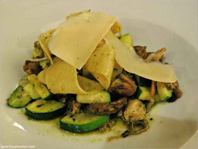 NECI on Main en Montpelier: Pappardelle Pasta