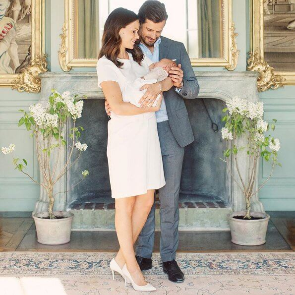 Prince Carl Phillip and Princess Sofia shared a new photo on their instagram page to celebrate their son's special day