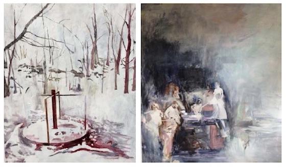 Susanne Pedersen: To malerier