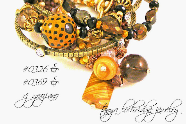 Tanya Lochridge Jewelry Kazuri Bead Leopard Bracelet