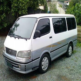 Toyota HiAce Van For Rent in Cebu (Cebu Rent A Van)