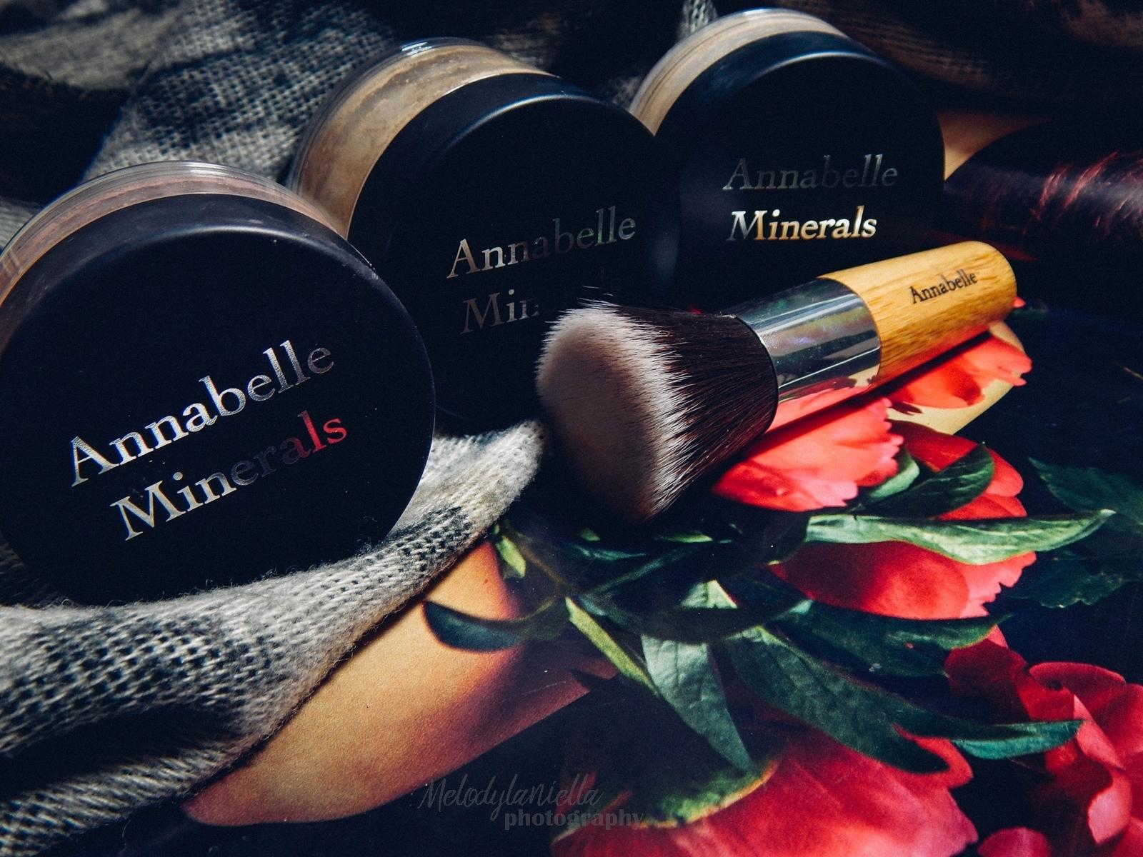 annabelle minerals kosmetyki mineralne zestaw matujący korektor podkład róż gratis pędzel jak używać kosmetyków mineralnych recenzja melodylaniella kosmetyki matujące