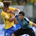 Brasil igualó 2-2 con Uruguay