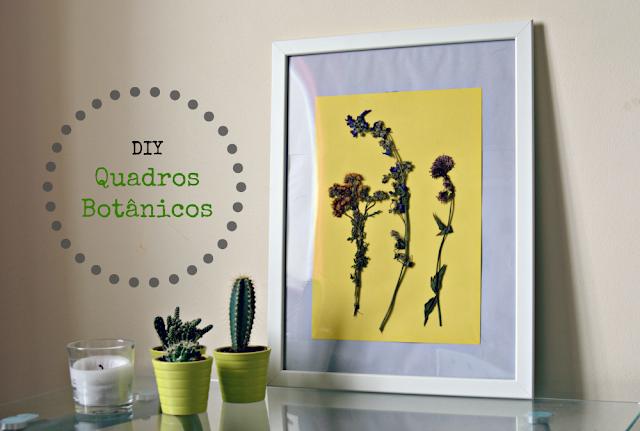 DIY - Quadrinhos botânicos