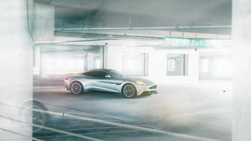 Aston Martin with Vellano rims