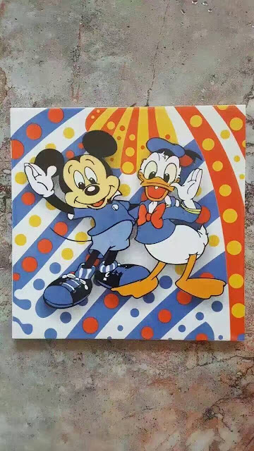 迪士尼瓷砖,卡通瓷砖