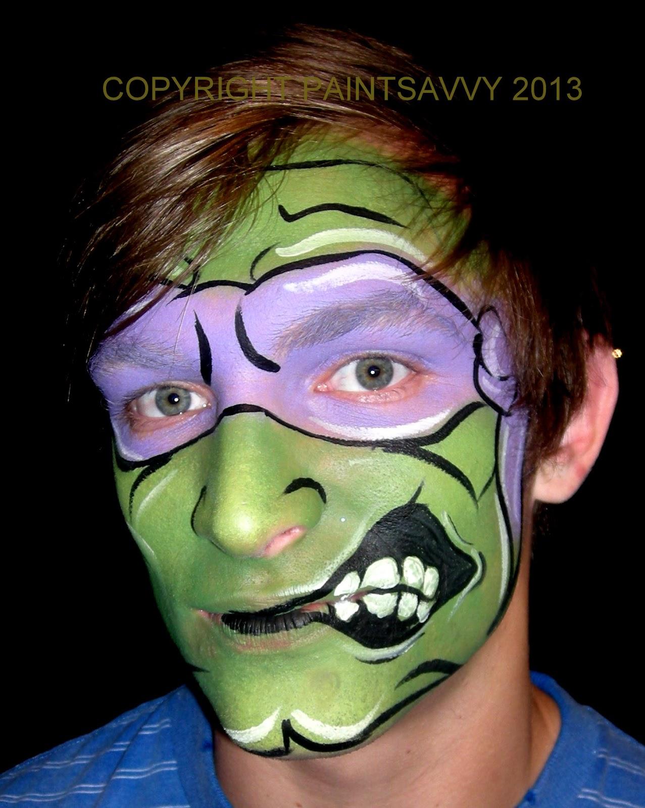 Teenage Mutant Ninja Turtle Party | Paint Savvy parties ...