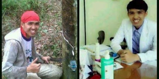 Tak Disangka, Pemuda Yang Tinggal Hutan Ini Kini Menjadi Seorang Dokter