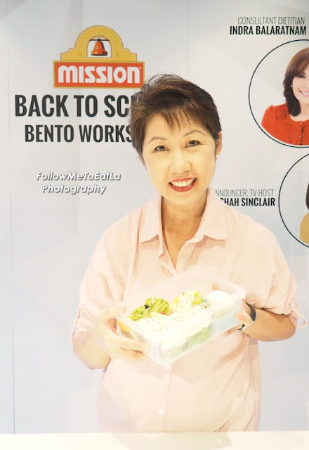 Mission Foods Back-To-School Bento Workshop