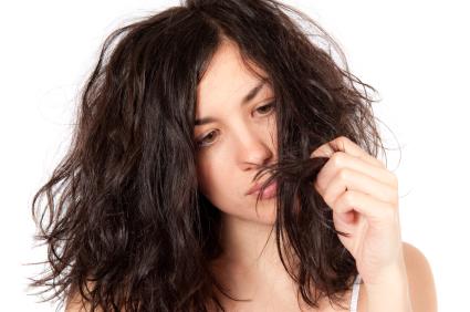 gambar masalah rambut kusut