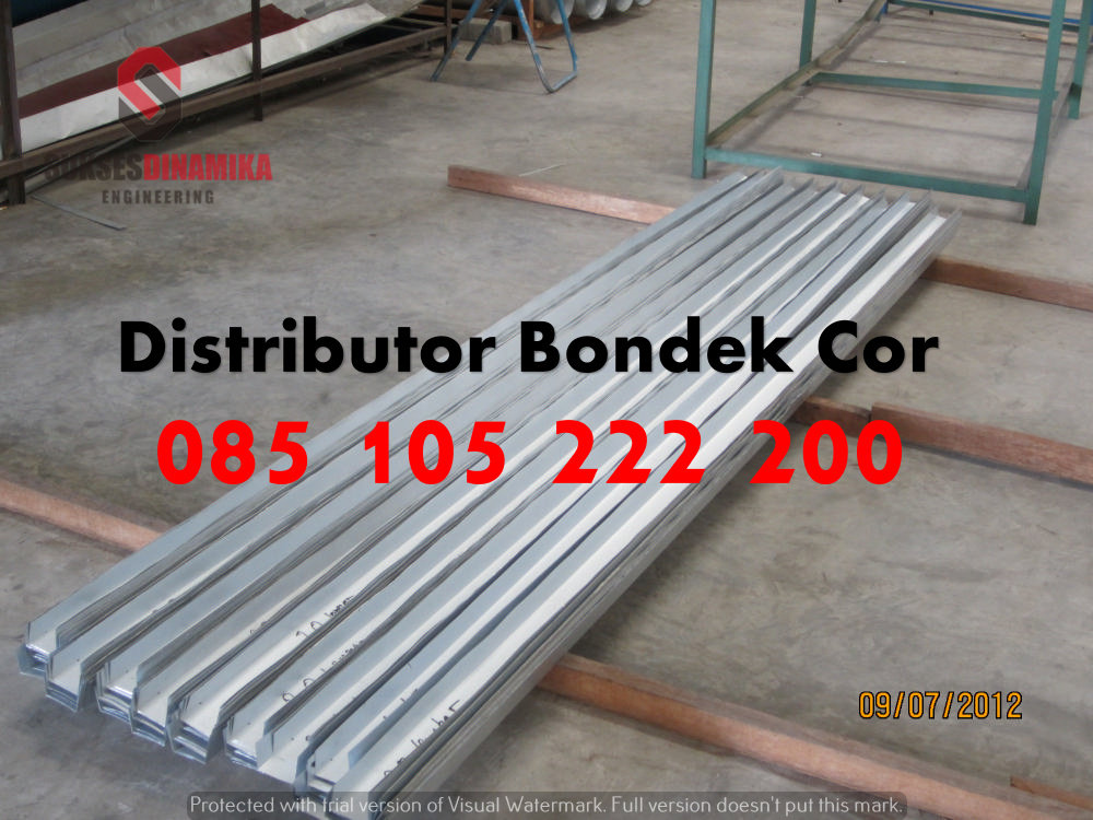 harga baja ringan buat ngecor pengadaan floor deck bondek di tuban | 081-330-690-081
