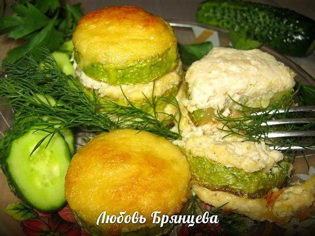 блюда из кабачков и фарша