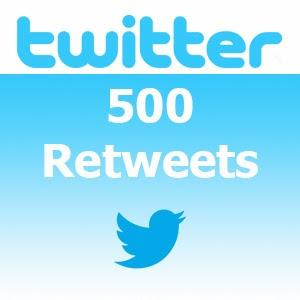 Buy 500 Twitter Retweets