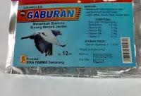 Vitamin Burung Merpati Gaburan
