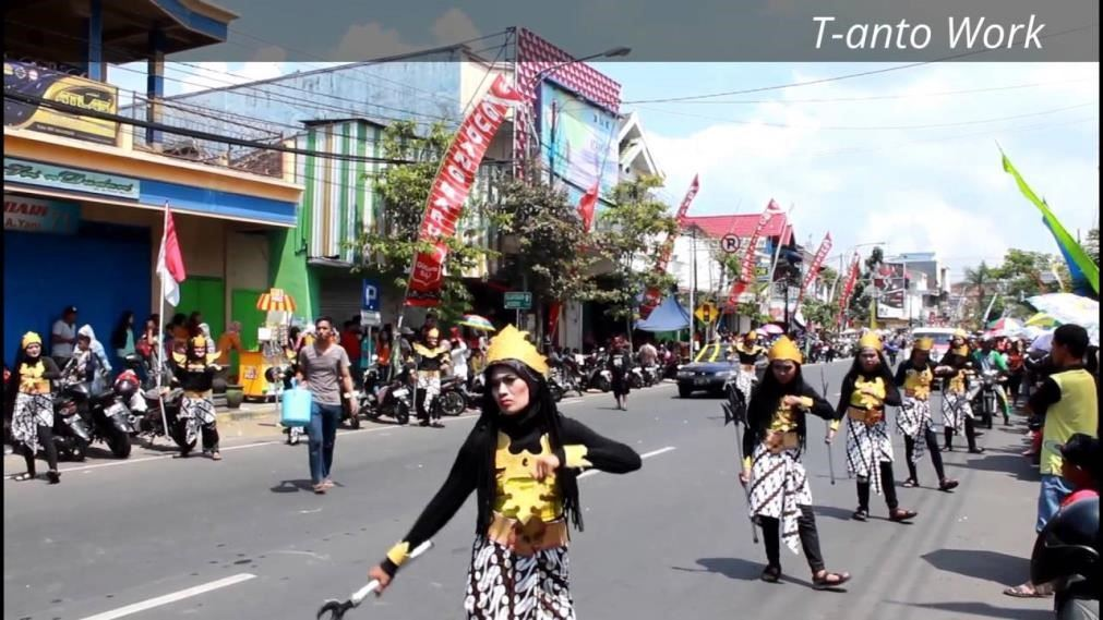 karnaval 17 agustus di malang