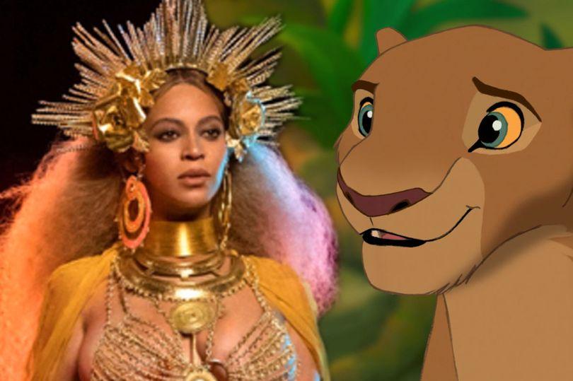 Beyonce and Lion King
