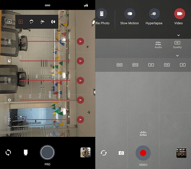 Camera modes!