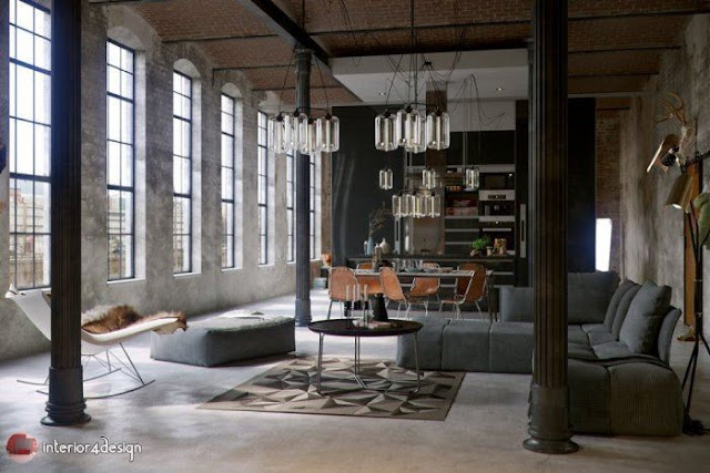 Industrial Style Decor 2