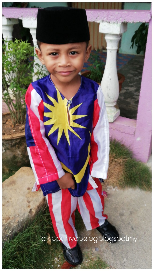 Sambutan ambang Merdeka tadika Kemas Seri Cheding yang sangat meriah!