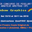 1er Concurso de Pixelart Amateur para Amstrad CPC