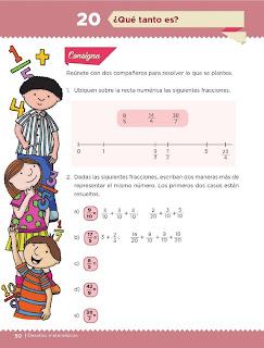 Apoyo Primaria Desafíos Matemáticos 5to. Grado Bloque II Lección 20 ¿Qué tanto es?