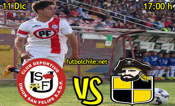 Ver stream hd youtube facebook movil android ios iphone table ipad windows mac linux resultado en vivo, online: Union San Felipe vs Coquimbo Unido,