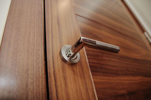 Glossy Veneered Doors