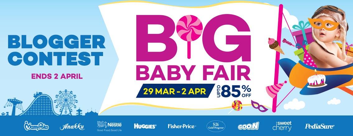 Lazada Big Baby Fair Blogger Contest