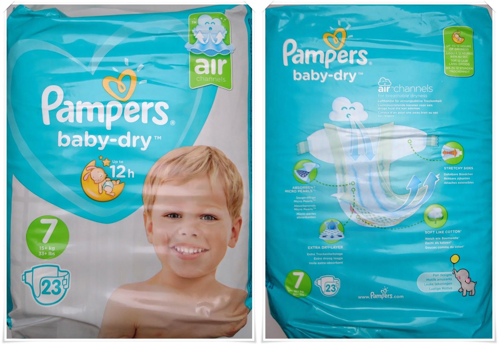 testbericht pampers baby dry gr e 7 jennifers test. Black Bedroom Furniture Sets. Home Design Ideas