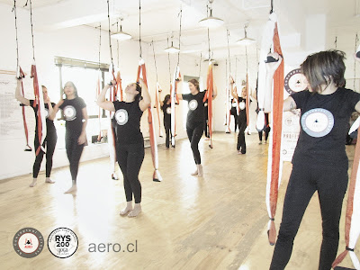 AERO® YOGA AEREO BY RAFAEL MARTINEZ, CURSOS FORMACION PROFESORES CHILE