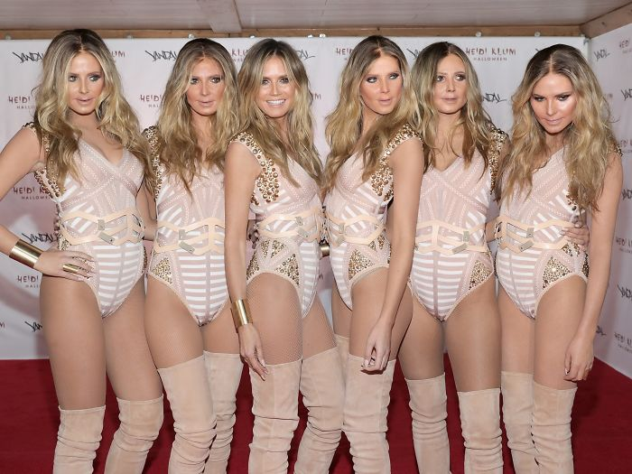 17 Awesome Pictures Of Heidi Klum Mastering Halloween Costumes