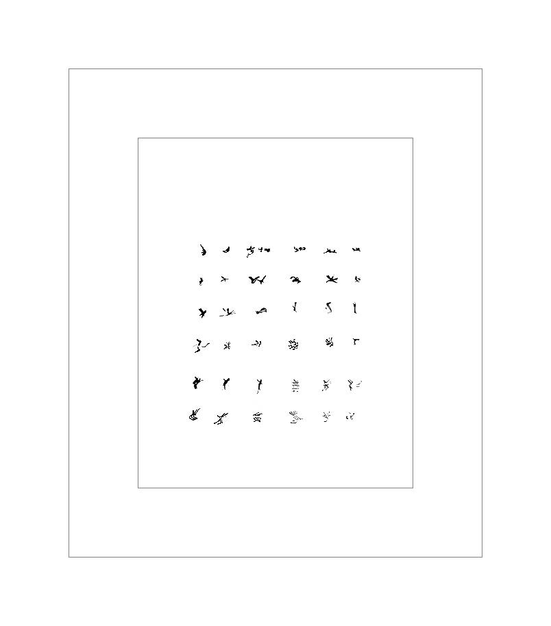 The Ridou Report: Alphabets as per Henri Michaux