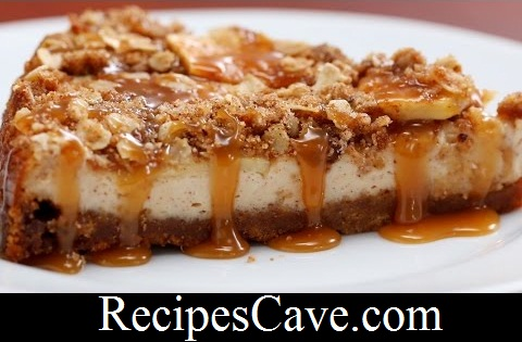 How to cook Caramel Apple Crisp Cheese Cake