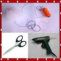 Peralatan yang digunakan untuk membuat gantungan kunci