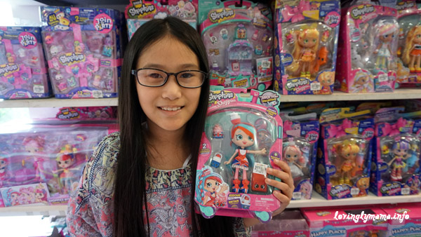 Shopkins Shoppie Jessicake doll