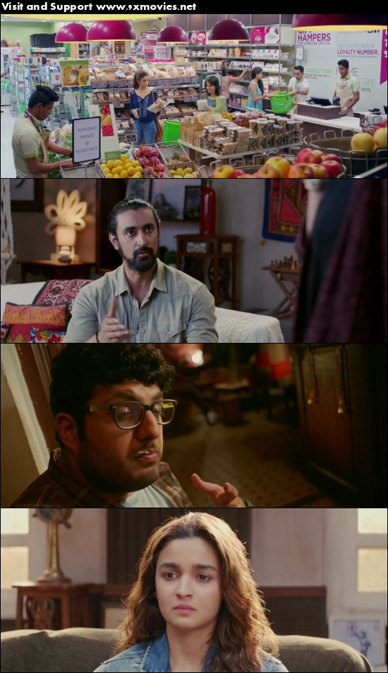 Dear Zindagi 2016 Hindi 480p DVDRip