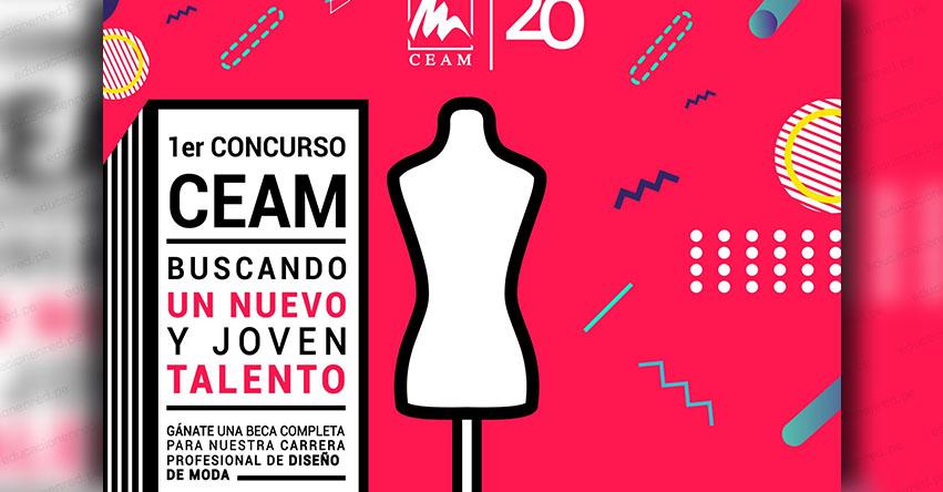 CEAM: Alumnos de quinto de secundaria pueden participar en concurso nacional de moda, organizado el Centro de Altos Estudios de la Moda - www.ceam.edu.pe
