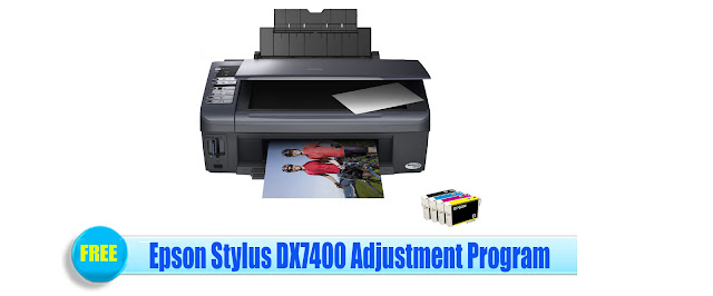 Epson Stylus DX7400 Adjustment Program