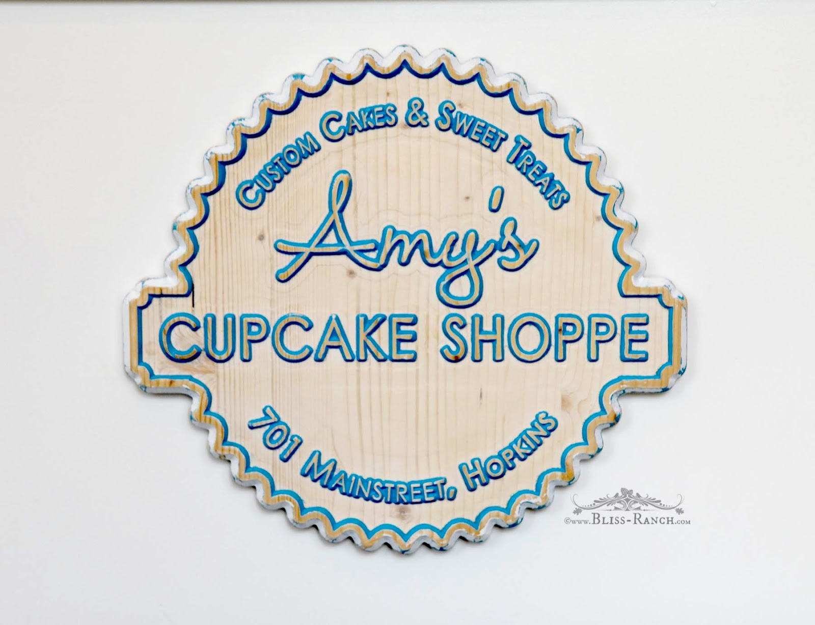 Bliss Ranch Tasting Cake At Amy S Cupcake Shoppe