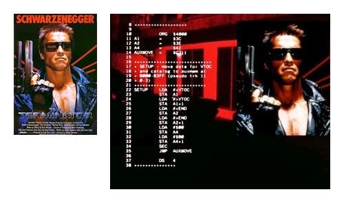 Terminator MOS 6502.